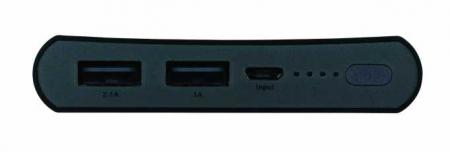 Acumulator portabil powerbank 10000mAh, negru, GP3