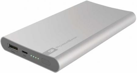 Acumulator portabil powerbank 5000mAh, argintiu, GP1