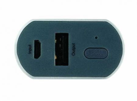 Acumulator portabil powerbank 5200mAh, argintiu, GP3