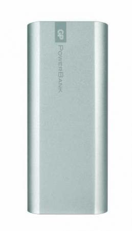 Acumulator portabil powerbank 5200mAh, argintiu, GP0