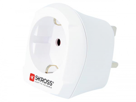Adaptor priza EU -> UK Skross0
