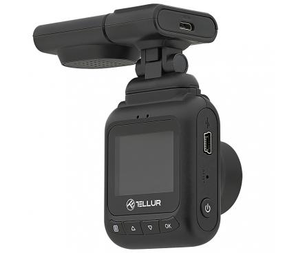 Camera auto Tellur Dash Patrol DC2, FullHD 1080P, GPS, Black inbagaj [1]