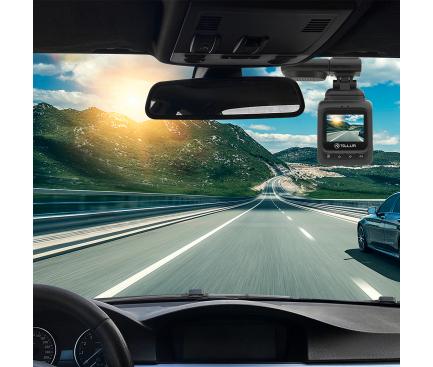 Camera auto Tellur Dash Patrol DC2, FullHD 1080P, GPS, Black inbagaj [5]