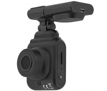 Camera auto Tellur Dash Patrol DC2, FullHD 1080P, GPS, Black inbagaj [0]