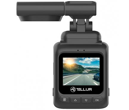 Camera auto Tellur Dash Patrol DC2, FullHD 1080P, GPS, Black inbagaj [3]