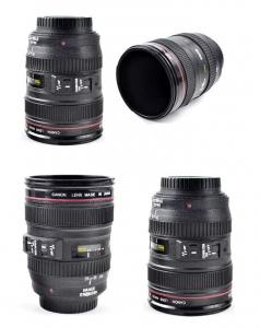 Cana obiectiv aparat foto - Negru - Plastic3