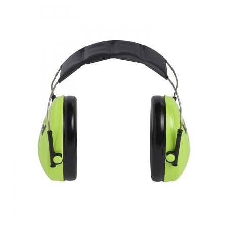 Casti antifonice pentru copii Peltor verde-neon4