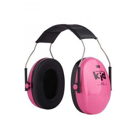 Casti antifonice pentru copii Peltor roz-neon0