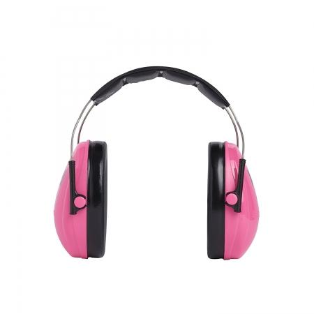 Casti antifonice pentru copii Peltor roz-neon1