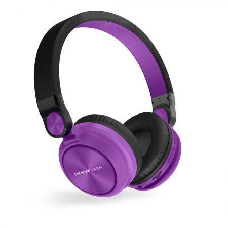 Casti over-ear Bluetooth Energy BT Urban 2 Radio, Bluetooth 4.2 Violet0