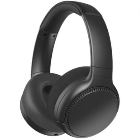 Casti PANASONIC RB-M700BE-K, Extra Bass Wireless, Noise Cancelling, Bass Reactor, around -Ear, Negru0