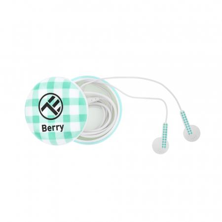 Casti Tellur In-Ear Berry - Albastru0