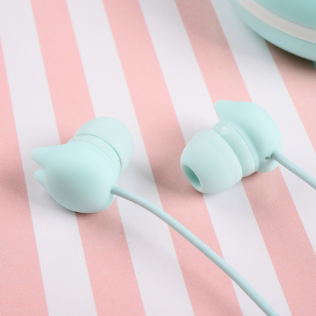 Casti Tellur In-Ear Macaron - Albastru1