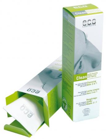 Demachiant bio 3 in 1 cu ceai verde, pentru toate tipurile de ten - Eco Cosmetics0