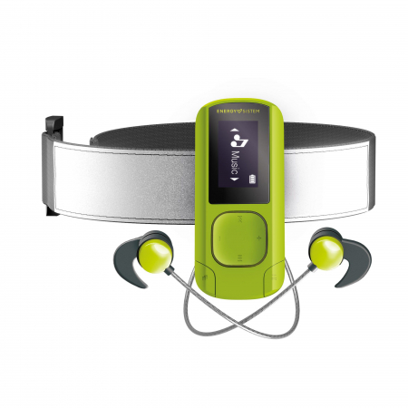 MP3/MP4 Player Energy Sistem Greestone 16GB, BRATARA FITNESS INCLUSA, casti sport1