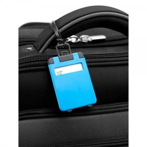 Eticheta Bagaj model Valiza - Albastru