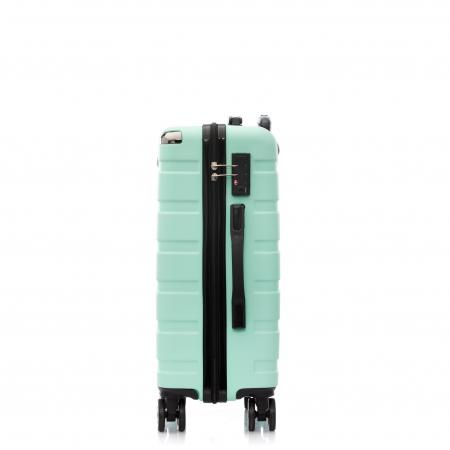 Troler de cabina MIRANO, Glide S, Turquoise1