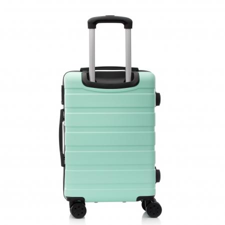 Troler de cabina MIRANO, Glide S, Turquoise2
