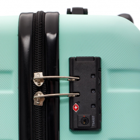 Troler de cabina MIRANO, Glide S, Turquoise4