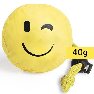 Geanta de cumparaturi pliabila - smiling face0