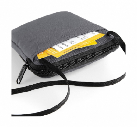 Geanta de umar/ crossbody- portofel pentru calatorii - Negru1