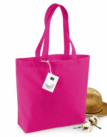 Geanta din bumbac organic - Roz