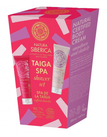 Set Cadou TAIGA SPA (Gel de dus & scrub, Crema corp) - Natura Siberica0