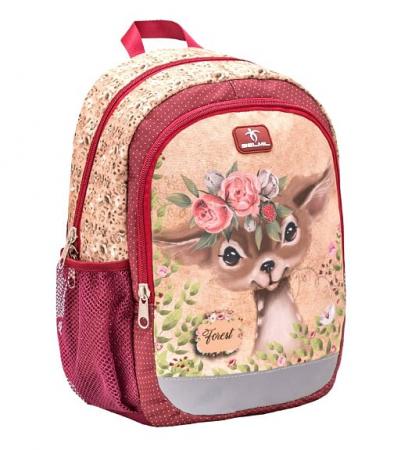 Ghiozdan de gradinita  BELMIL Kiddy Plus Animal Forest Bambi0
