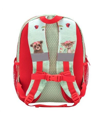 Ghiozdan de gradinita  BELMIL Kiddy Plus Animal Forest Hedgehog3