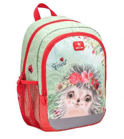 Ghiozdan de gradinita  BELMIL Kiddy Plus Animal Forest Hedgehog1