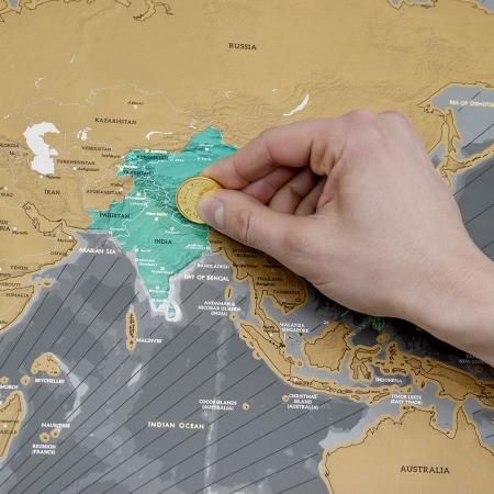 Harta razuibila Editia X Aniversara  - produs original Luckies London4