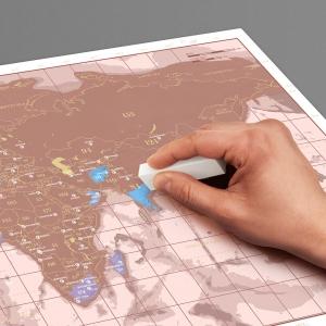 Harta razuibila Rose Gold1