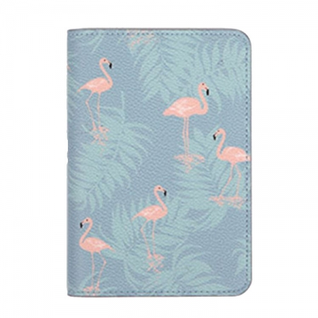 Husa pasaport/ Coperta Pasaport - Flamingo0