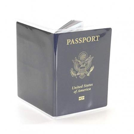 Husa pasaport/ Coperta Pasaport - Transparent mat0