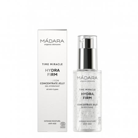 MADARA TIME MIRACLE HYDRA FIRM Hyaluron Jelly - ser hialuronic 75ml0