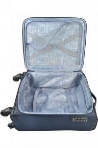 Mirano Troler material textil GREECE-55 bleumarin