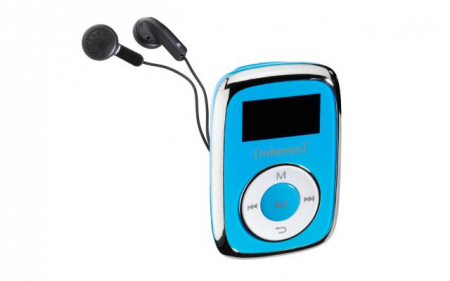 MP3 Player 8GB Music Mover - Albastru0