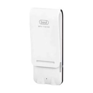 "MP3 Player TREVI MPV 1728, 4GB, MicroSD-in, Display LCD 1.8"", Radio FM, Alb"