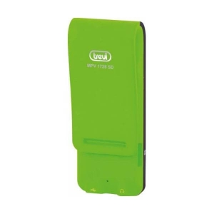 "MP3 Player TREVI MPV 1728, 4GB, MicroSD-in, Display LCD 1.8"", Radio FM, Verde [1]"