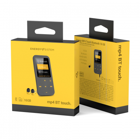 MP4 Player Energy Sistem TOUCH 16GB Bluetooth Amber5