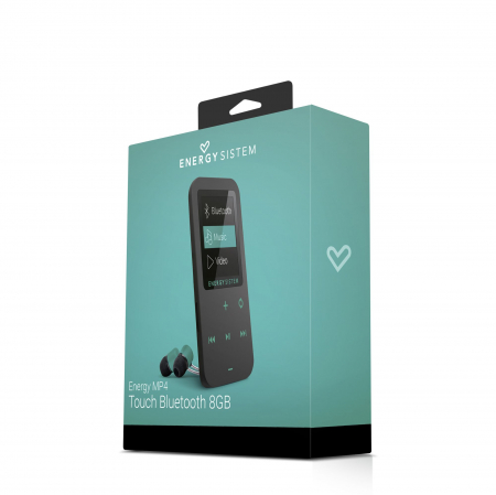 MP4 Player Energy Sistem TOUCH 8GB Bluetooth Negru/Verde4