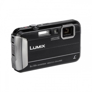 Camera foto Panasonic neagra DMC-FT30EP-K2