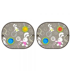 PARASOLAR AUTO Bubble Dreams Round - Set de 2 bucati2