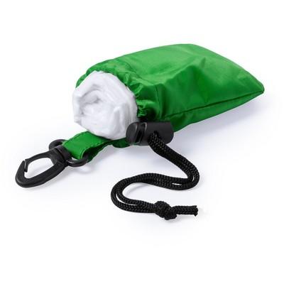 Poncho / pelerina de ploaie cu gluga - Verde0