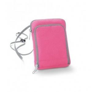 Geanta-portofel pentru calatorii roz0