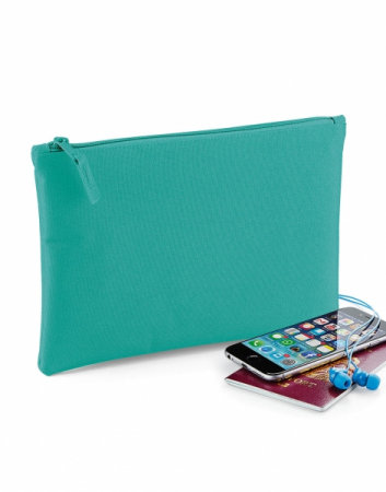 Portofel documente sau iPad mini/tablete  - Roz - textil2