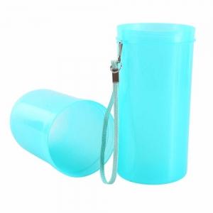 Recipient pentru periuta si pasta de dinti - Albastru1