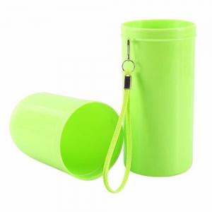 Recipient pentru periuta si pasta de dinti - Verde1