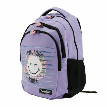 Rucsac Lamonza Smiley World Blossom 45x31x16 cm1