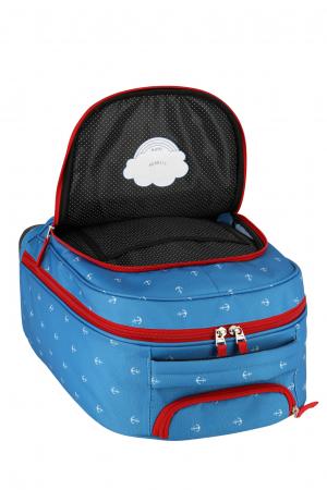Rucsac pentru copii cu troler 4 roti Piratul   - travelite5